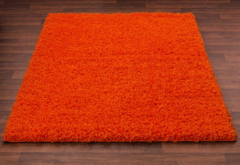 Pomarańczowy Dywan Shaggy Agregat Do Gipsowania